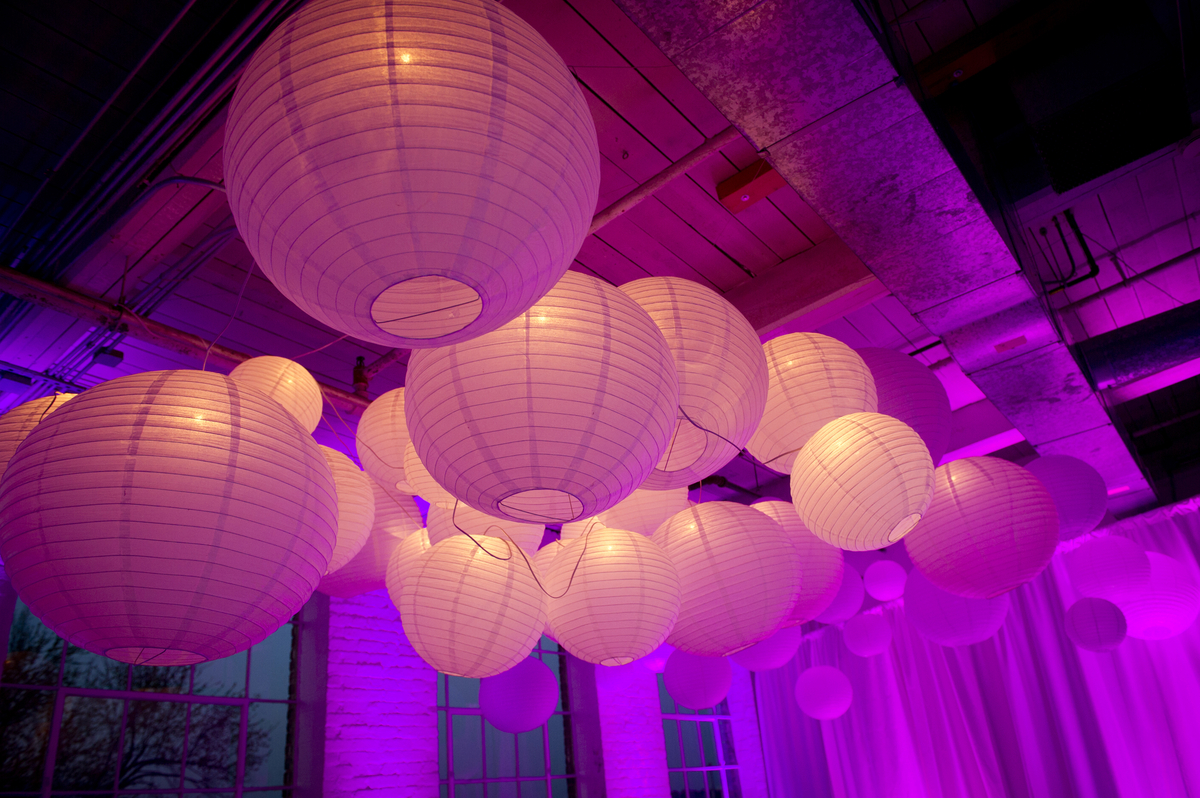 Creating A Unique Lighting Experience With Round Paper Lanterns